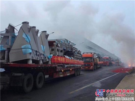 元旦开门红 中联重科超4000万元混凝土产品发往全国
