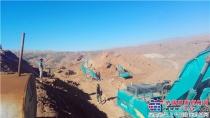 伊朗客户点赞山河智能全系列液压挖掘机