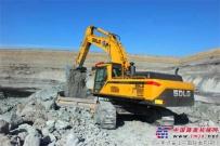 15年矿山从业者,信赖临工设备!