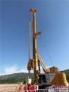 古丝绸之路迎来新款宝峨钻机,BG 30旋挖钻机甘肃嵌岩施工再显实力