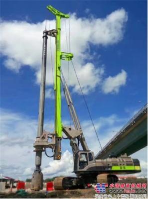 中联重科旋挖钻挺进马来西亚 助力多个国家级重大项目