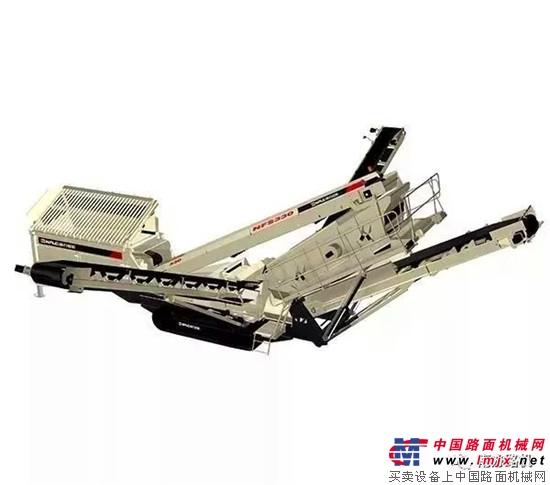 南方路机移动式破碎生产线在浙江的运用