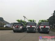 中联重科混凝土产品元旦发车忙 超4000万元设备奔赴全国