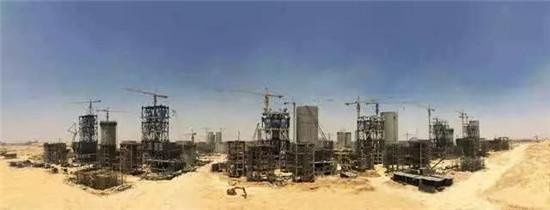 世界级工程!中国装备在埃及GOE项目上威风凛凛!