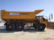 徐工轻型矿用自卸车XDM60下线