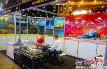 山推建友亮相菲律宾国际工程机械展览会