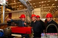 湖南省副省长陈飞考察三一中兴,祝愿企业「新一年再上新台阶」