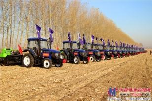 雷沃阿波斯农业装备多方合作探讨秸秆综合利用新途径