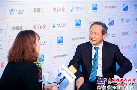 王民董事长:打造智能化徐工,跻身行业顶尖水平!