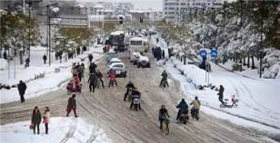 冰天雪地通行难 盖尔除雪显神威