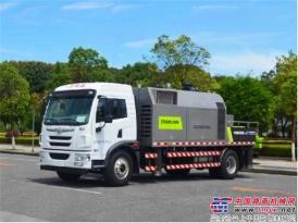 中联重科大动力车载泵K10528首销土耳其