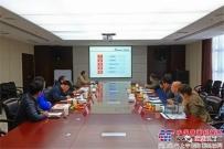 广西钦州用户来陕建机股份参观考察