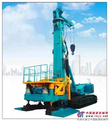 新品品鉴:山河智能SWRC170自行式全回转全套管钻机