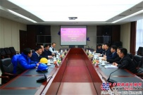 新疆乌市经开区管委会领导来陕建机股份考察调研
