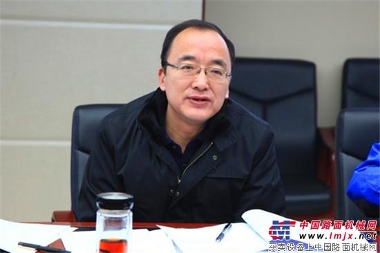 陕建机股份党委中心组开展民主生活会会前专题学习研讨