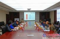 广西钦州滨海元宇投资有限公司领导来陕建机股份参观考察