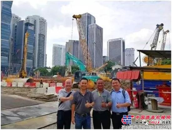 """一带一路 中联重科旋挖钻红遍马来西亚——""""本地化""""是王道"""
