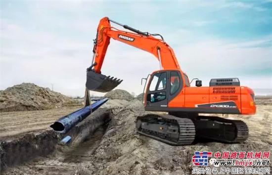 奖励自己一台私人订制的斗山挖掘机吧