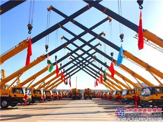 """全球销量第一,""""一带一路""""一单出口230台,中国品牌靠的是实力"""