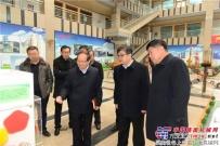 海阳市市长林钰涛来方圆集团调研