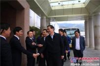 龙岩市市长林兴禄一行深入龙工与龙岩基地干部员工共话新春新发展
