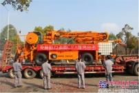 中联重科首台本地化生产CIFA湿喷机交付客户 开启施工征程