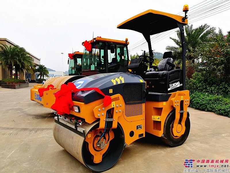 成交3800万 ! 徐工高端道路机械强势引领广西市场