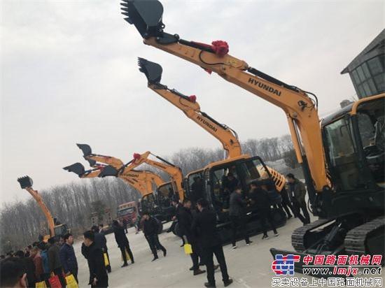 郑州捷成现代工程机械订货会圆满成功!
