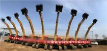 合作共赢,厦工批量挖掘机交付仪式在华北成功举行