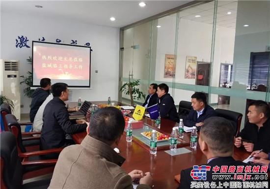 山东临工总经理文德刚:江苏市场大有可为  淮北龙丰成功举办山