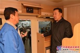 唐山市市委书记王浩同志来亚特重工参观考察