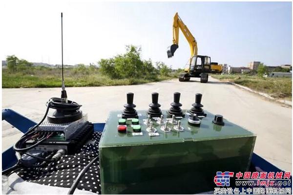 挖掘机技术,还看晋工无人驾驶挖掘机!