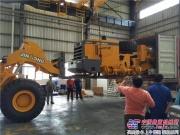 晋工装载机远销印度和阿根廷国际市场