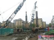 厉害了!通州基础使用六台盾安重工全回转钻机助力六朝古都(南京)城市建设!