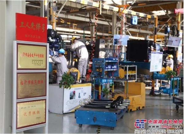 山东临工:抓生产、保质量,生产运营系统大干快上 品质赢得信任