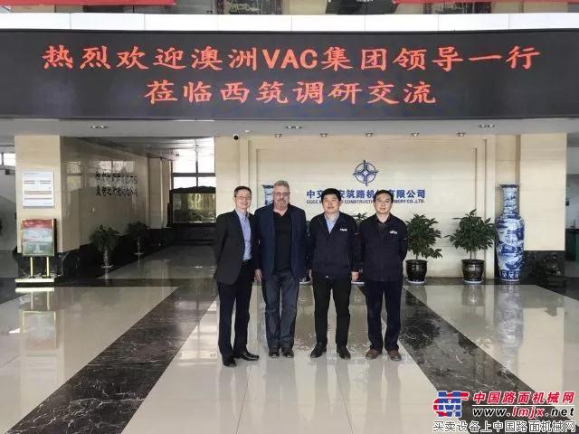 澳洲VAC集团董事长访问中交西筑