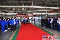 陕建机股份新型摊铺机SUM530下线交付用户