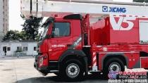 冠军王者|徐工JP62S1举高喷射消防车实现亿元销售