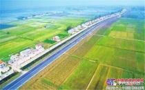 火热施工季 —— 戴纳派克力助湖北省公路改建工程