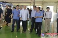 全国人大常委会原副委员长路甬祥到陕建机股份视察调研