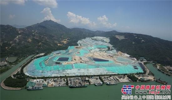 利勃海尔PR754废料处理推土机将登陆香港