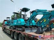 山河智能纯电动挖掘机批量进驻北京地铁施工