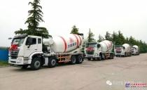 方圆新型搅拌运输车再次奔赴青藏高原