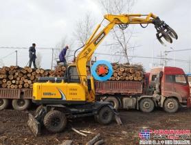 广西抓木机市场一代神机