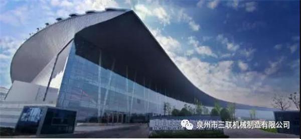 """三联机械重磅亮相2018国际新墙材展 三联机械作为""""中国制造"""