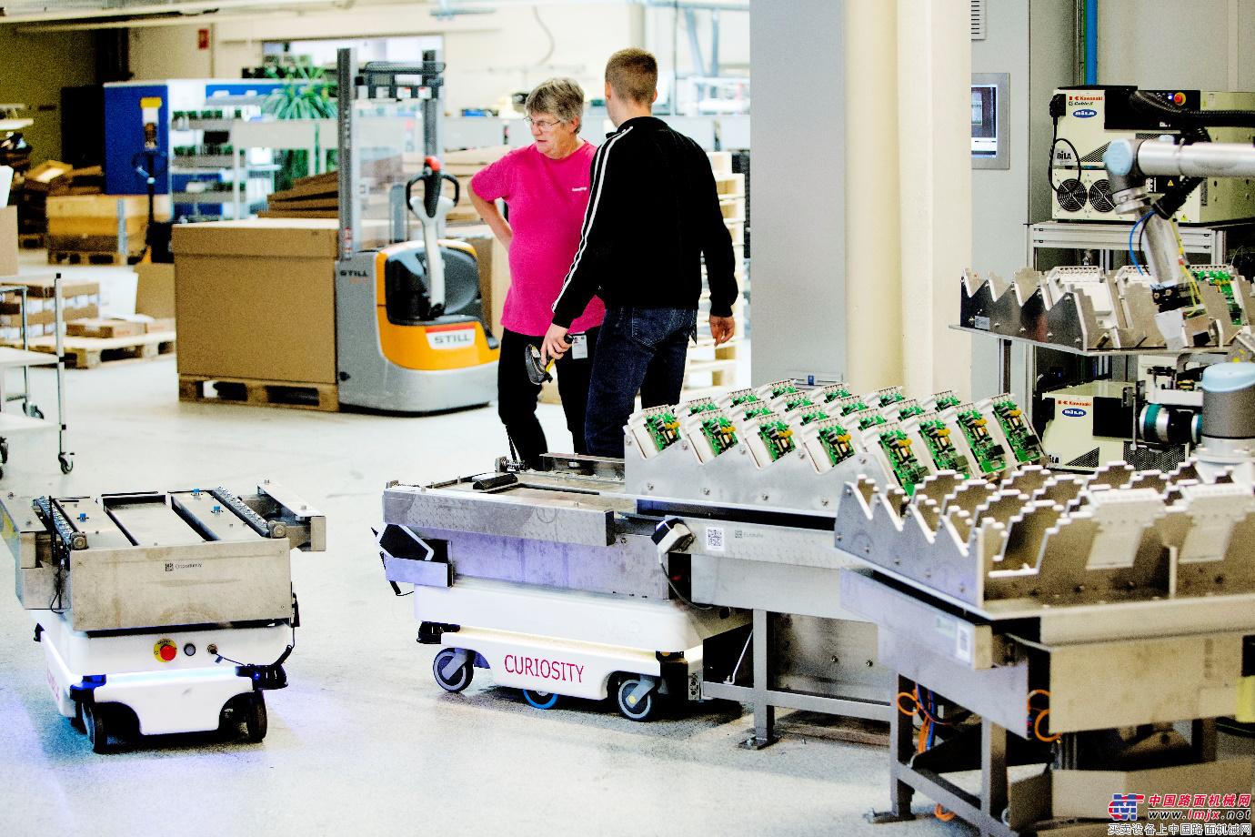 实力派移动机器人跃升为未来工厂的中流砥柱