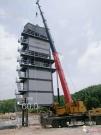 贺鑫海路机LB—4000型沥青搅拌站在湖南醴陵安装成功