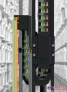 igus 导槽引导拖链安静稳定运行,垂直运行速度达 7 米/秒