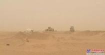 山东临工走进苏丹沙漠矿区关爱客户