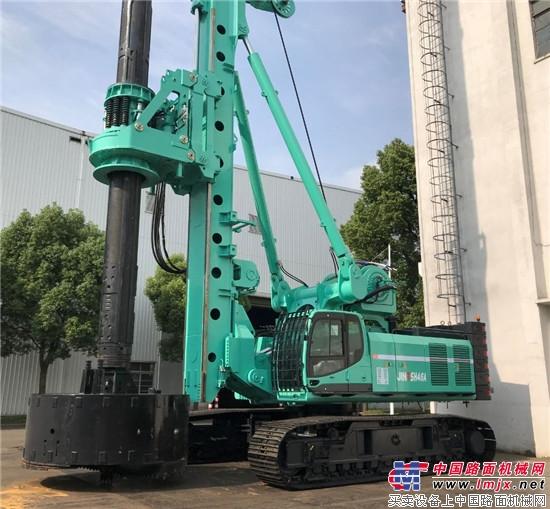 上海金泰发布旋挖新品 SH46A亮点纷呈 引客户争购